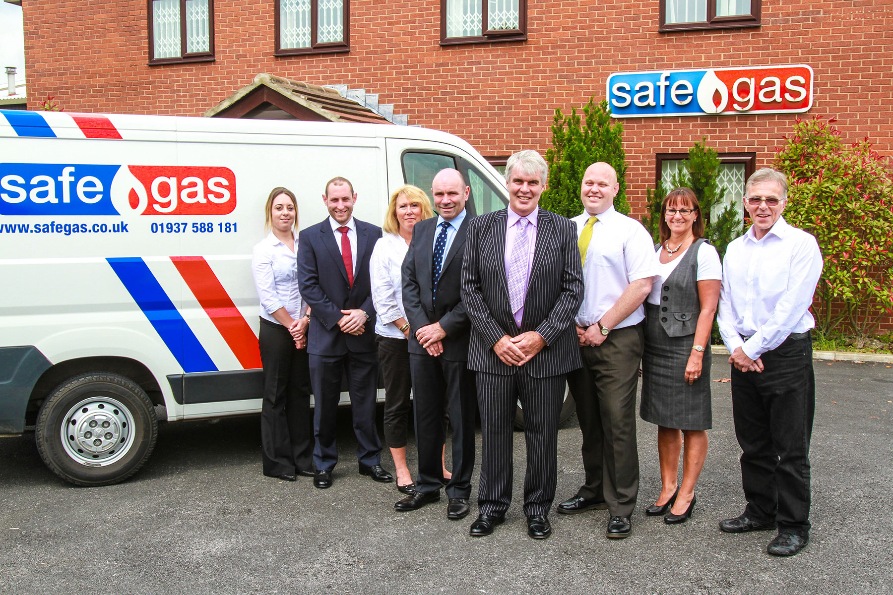 The Safegas team