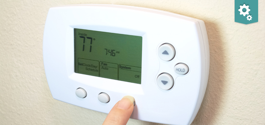 Different temperatures in different rooms