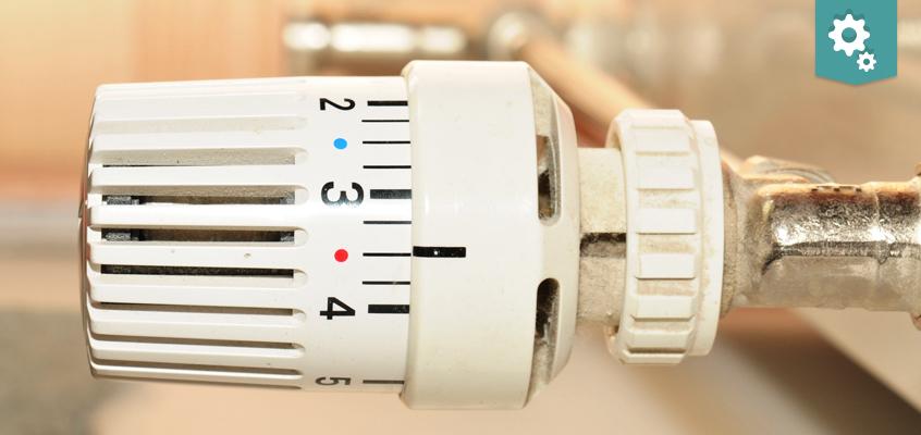 Damaged radiator valve