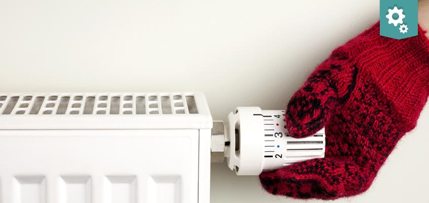 Radiators stay cold