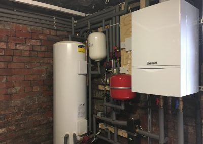 Vaillant Eco Tec & Unvented Hot Water Cylinder