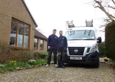 Engineer James and Apprentice Adam